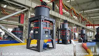 Hot sale ultrafine grinding mill for ores youtube video