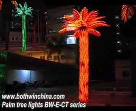 Palm tree lights, led coconut palm