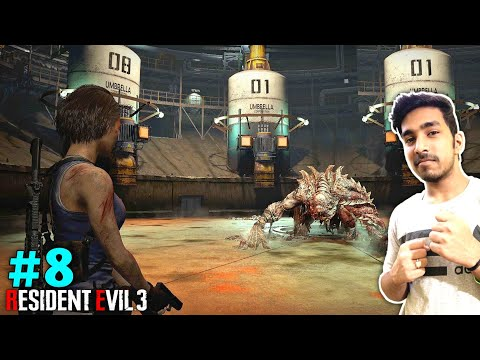 THIS MONSTER IS CRAZY | RESIDENT EVIL 3 GAMEPLAY #8