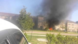 Lake Jackson (TX) United States  city photo : Truck caught on fire in Lake Jackson, Tx 8/9/15