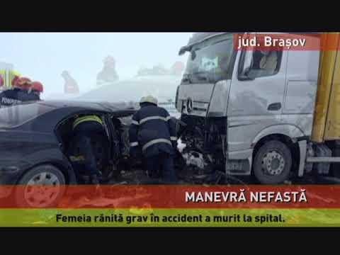 Accident mortal, pe DN 1, în județul Brașov