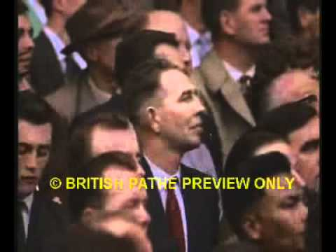 England vs. Rest of the World; featuring legends like De Stefano, Eusebio, Bobby Charlton and more