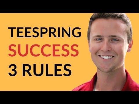 Top 3 Teespring Tips For SUCCESS