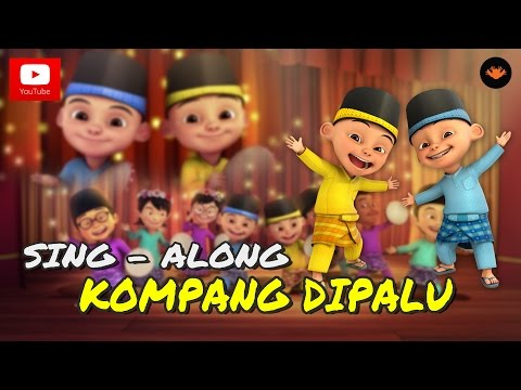 Upin & Ipin - Kompang Dipalu (Sing -Along)