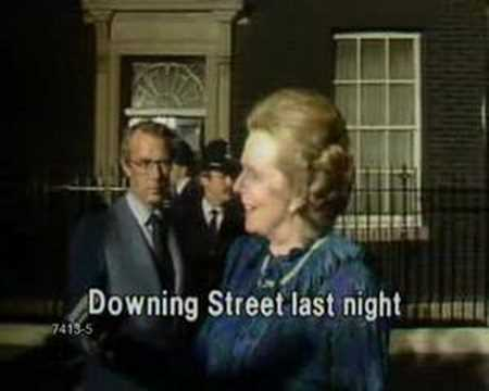 Margaret Thatcher - End Of Falklands War