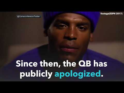 Cam Newton Makes Sexist Comment in Live Interview | NYMM