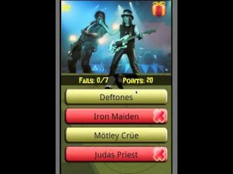 Video of Metal Trivia!