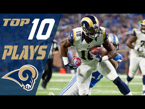 Rams Top 10 Plays of the 2016 Season | NFL Highlights