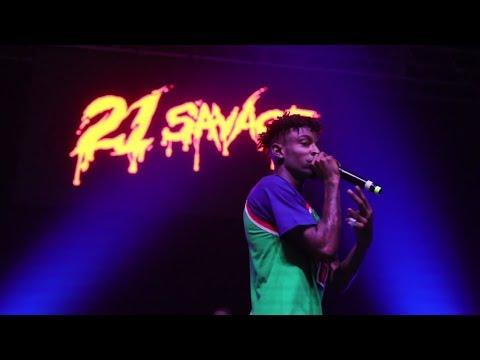 21 Savage - Numb The Pain Tour: Vlog 2