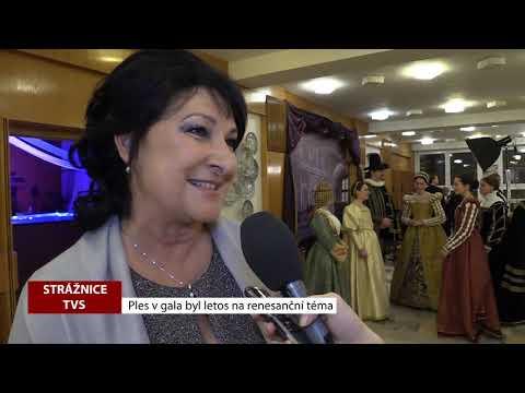 TVS Strážnice - Letošní Ples v gala byl na renesanční téma