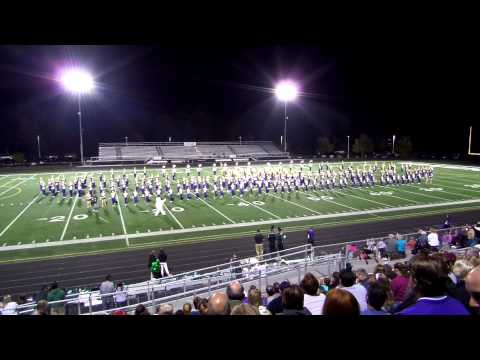 Jackson High School Marching Band 2014-2015 Second Half