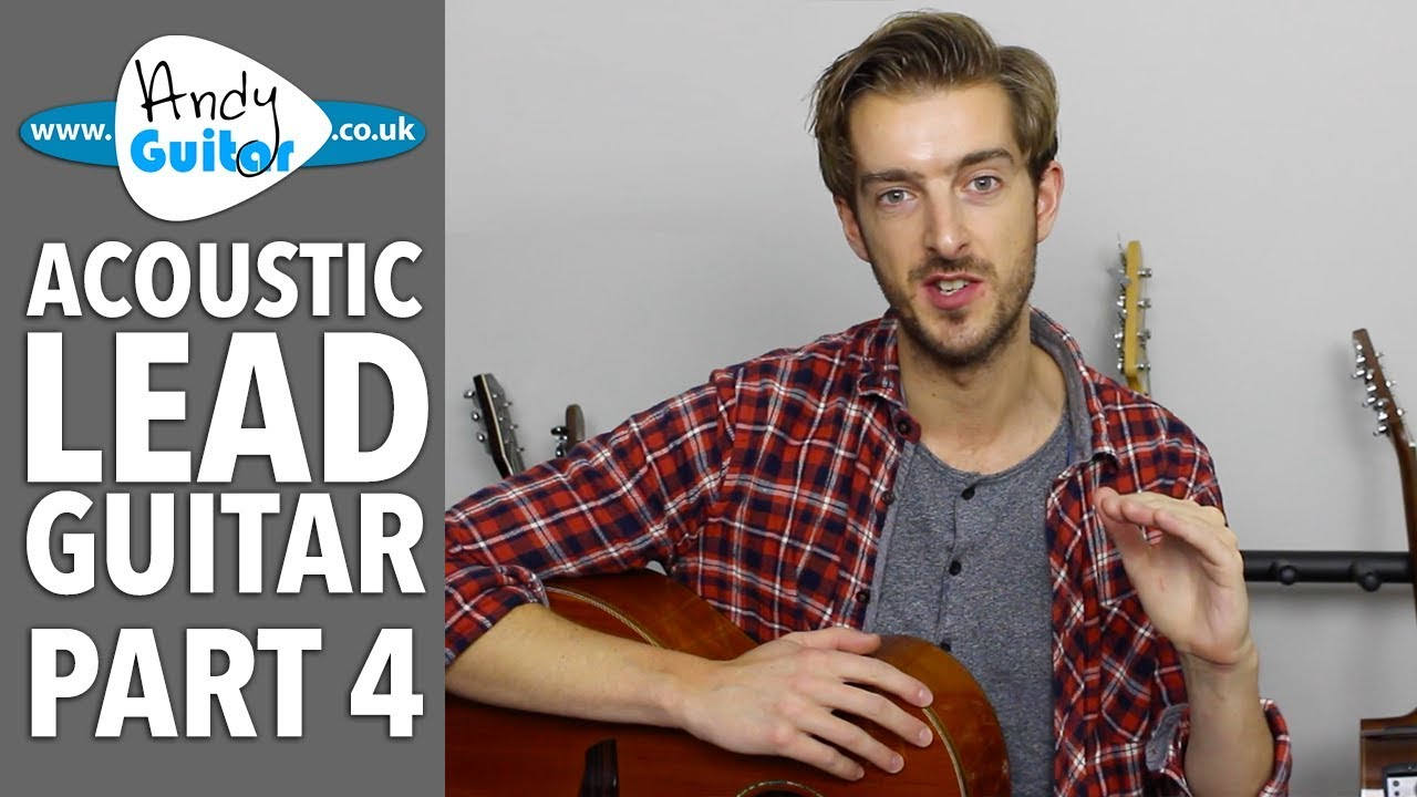More Major Scale Patterns –  Acoustic Lead Guitar Lesson #4