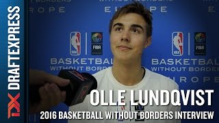 Olle Lundqvist Interview from NBA Basketball Without Borders Europe Camp