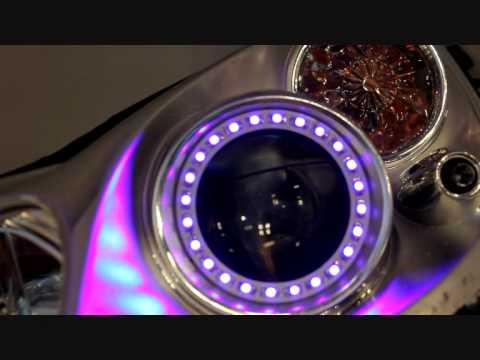 Smart Fortwo LED Angel Eyes (Blue)