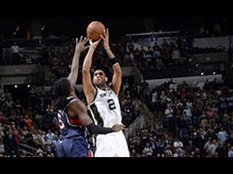 winner - Tim Duncan closed out a vintage performance by hitting the game-winning jumper with 0.4 seconds left in regulation to top the Hawks 102-100. Visit nba.com/vi...