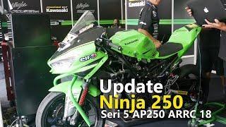 Video VLOG : Update Kawasaki Ninja250 Manual Tech AP250 ARRC 2018 MP3, 3GP, MP4, WEBM, AVI, FLV Oktober 2018