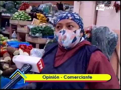 Medidas de bioseguridad en mercados de Quito