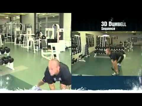 Dryland Hockey Training Workouts – 3D Dumbell Sequence