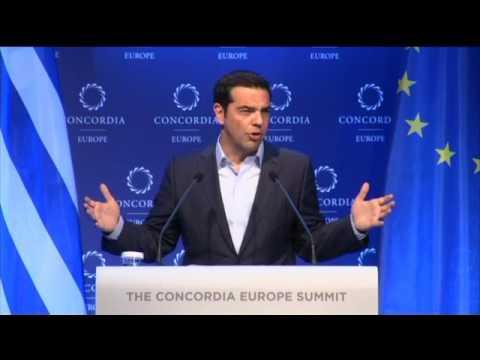 Εκδημοκρατισμός της Ευρωζώνης σημαίνει μια νέα αρχή για την Ευρώπη. Ομιλία στο #Concordia17