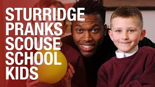 Video Daniel Sturridge surprises unsuspecting school kids MP3, 3GP, MP4, WEBM, AVI, FLV Maret 2018