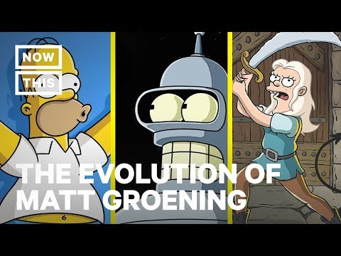 The Evolution of 'Simpsons' Creator Matt Groening | NowThis