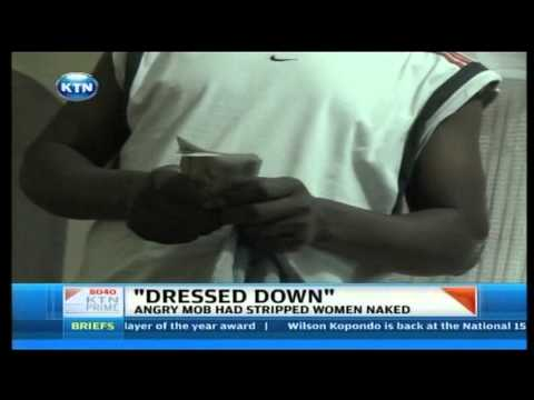 Two women stripped for drugging a man