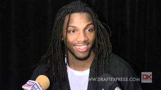 Kenneth Faried Draft Combine Interview