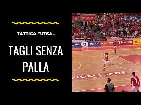 Tattica Futsal: Tagli senza palla