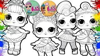 Jogos de meninas - Desenholandia Colorindo Bonecas LOL Surpresa Desenhos para Crianças  Vídeos de bonecas para meninas