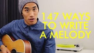 Video 147 WAYS TO WRITE A MELODY MP3, 3GP, MP4, WEBM, AVI, FLV Agustus 2018