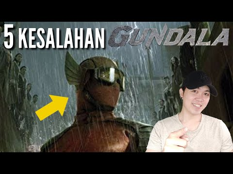 5 KESALAHAN GUNDALA - film superhero Indonesia