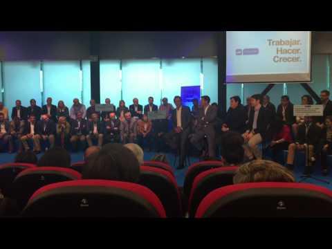 Intervención de Lito Rodríguez en la presentación de todos los candidatos de Asturias