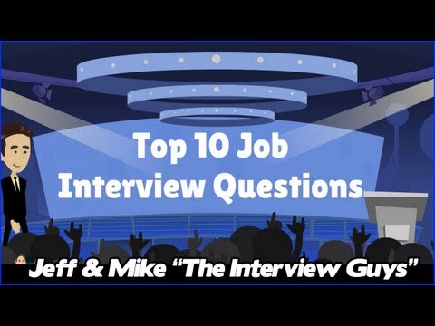 answers - Here are the top 10 job interview questions along with tips on how to answer them. For the free