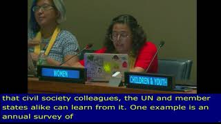 Lillian Sol Cueva intervention, at the 11th Meeting of the HLPF 2018: UN Web TV