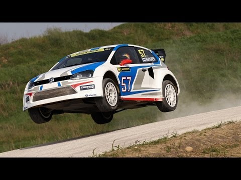 rallycross test day-franciacorta international circuit 2014 - pure sound