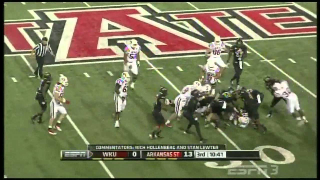 Antonio Andrews vs Arkansas State (2012)