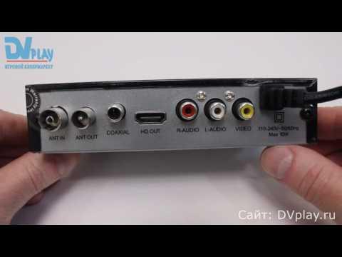 Selenga HD860D - обзор DVB-T2 ресивера