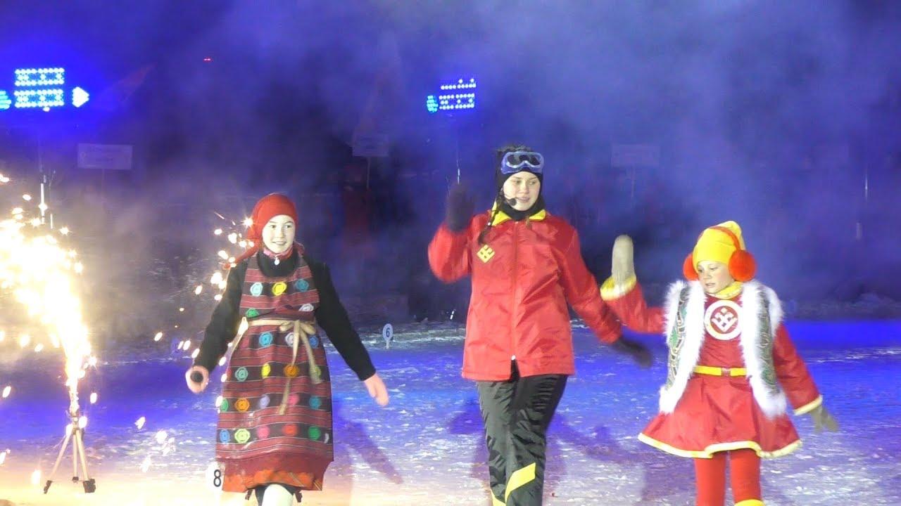 Открытие зимних сельских спортивных игр в Малой Пурге