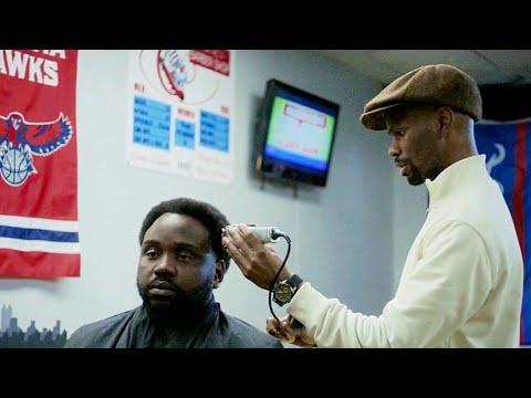 annoying barber scene (ATLANTA) s2ep5
