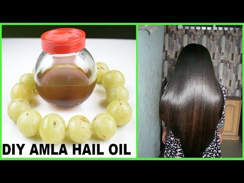 How To Make Amla Hair Oil At Home For Super Fast Hair Growth Bangla-Get Thick Soft Shiny Black Hair