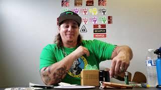 HEMPER BOX!!!!!! UNBOXING!!!!!!! (APPLE RIG) by Custom Grow 420