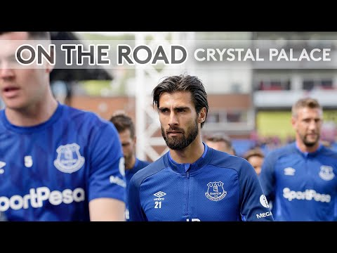Video: ON THE ROAD: CRYSTAL PALACE V EVERTON | BEHIND THE SCENES AT SELHURST PARK