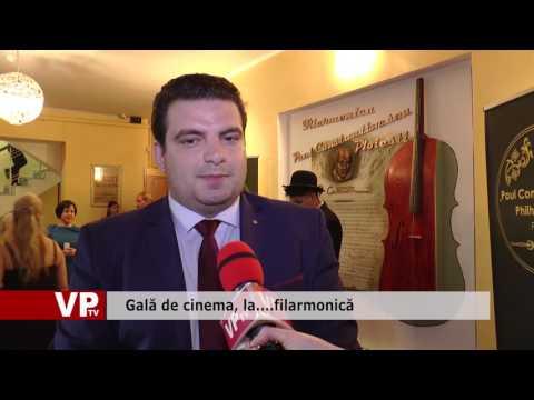 Gală de cinema, la… filarmonică
