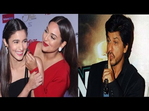 Sonakshi Prefers Alia Over Sonam | Shahrukh Being
