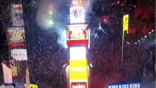 New Year 2013 New York City Times Square Ball Drop Countdown