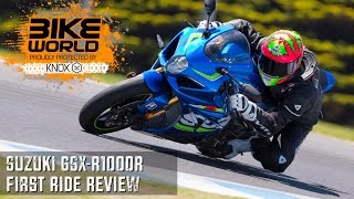9. 2017 Suzuki GSX-R1000R First Ride Review