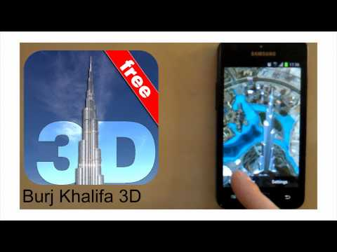 Video of Burj Khalifa 3D Wallpaper FREE