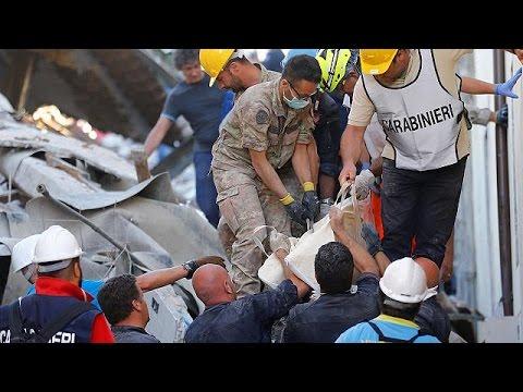 Ιταλία: Ο Ματέο Ρέντσι στις πληγείσες περιοχές