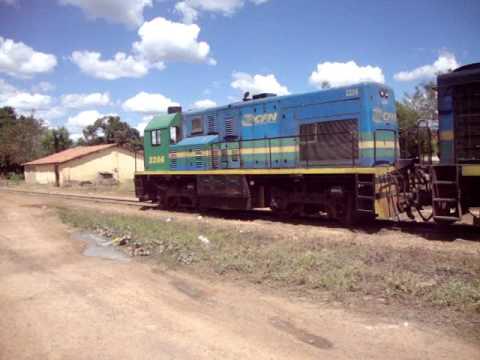 trem da transnordestina em castelo do piaui