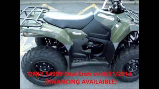 6. 2014 Suzuki KingQuad 400 @United Cycle of Beckley